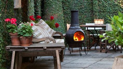 Chiminea Outdoor Fireplace Nz by Autumn Is For Alfresco Living With An Outdoor
