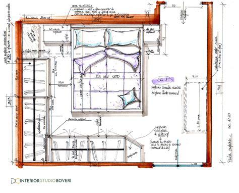 planimetria da letto relooking da letto in appartamento stile moderno