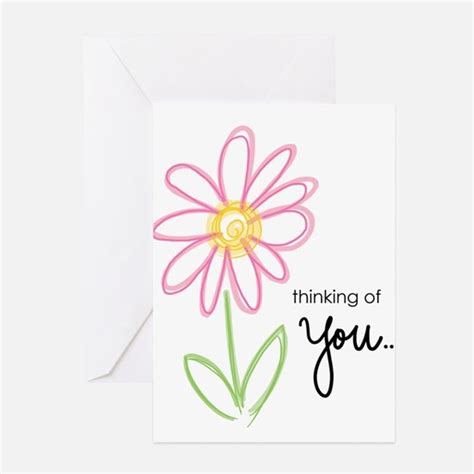 Thinking Of You Gift Card - thinking of you greeting cards cafepress