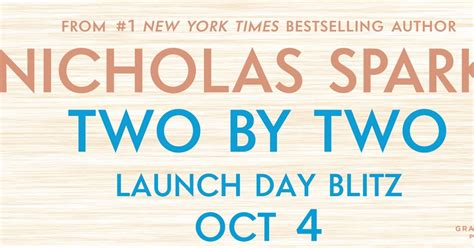 Nicholas Sparks Two By Two Hardcover stuck in books two by two by nicholas sparks now available giveaway