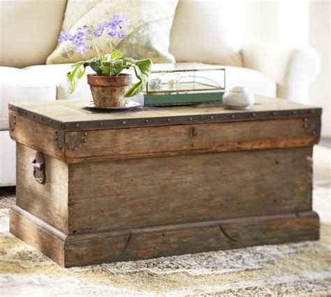 Pottery Barn Trunk Coffee Table Trunk Pottery Barn