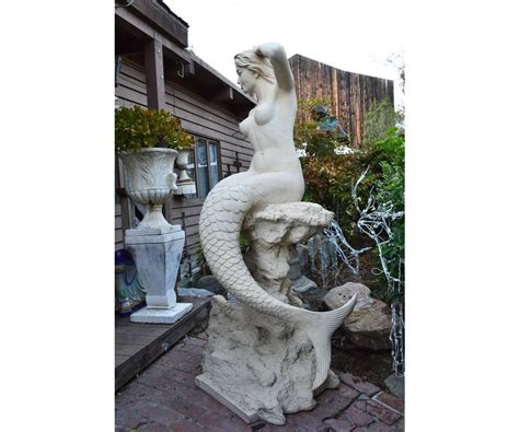 life size mermaid statue for sale at 1stdibs