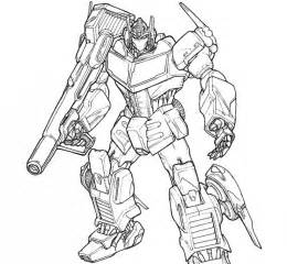 optimus prime colouring page free coloring pages on art