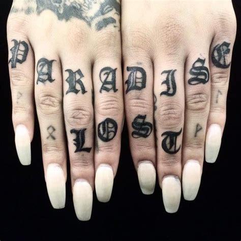 tattoo fonts knuckles knuckle tattoos tattoos i want knuckle