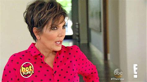 back of chris jenners hair kris jenner photos and images abc news