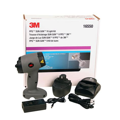 3m pps sun gun color matching light kit for auto paint refinish process 16550 ebay