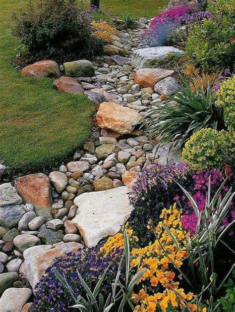 Pebbles And Rocks Garden Pebble And Rock River Bed For Garden Drainage Mac Rivers Beds And Rocks