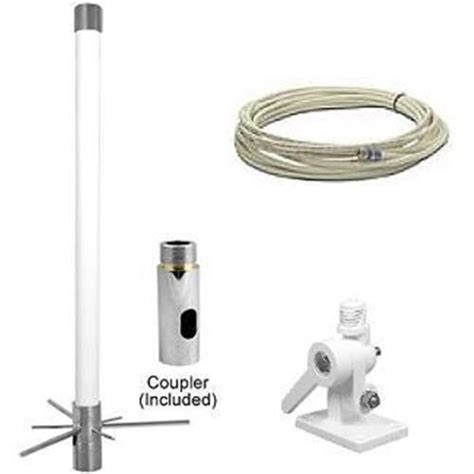 wilson cellular dual band marine cell phone antenna with 20 white rg58u cable 318430 from