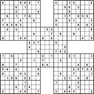 printable sudoku and crossword puzzles about printable sudoku puzzles printable sudoku puzzle