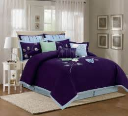 Why Use A Duvet Cover 9 Piece King Salzer Blue Comforter Set