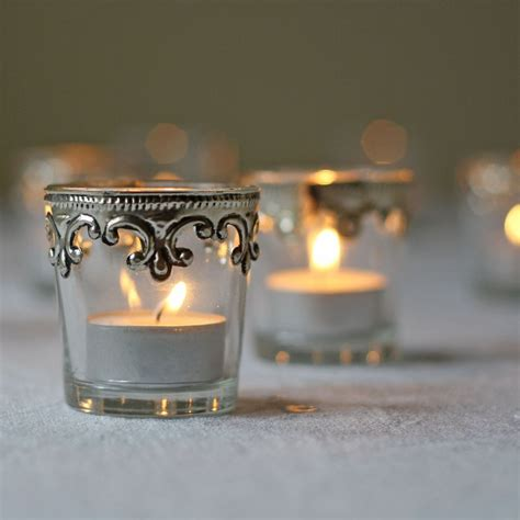light pink votive candle holders stylish silver and glass tea light holders set of 2