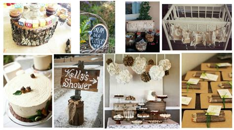 Rustic Baby Shower Decorations by 20 Rustic Baby Shower Ideas Rustic Baby Chic