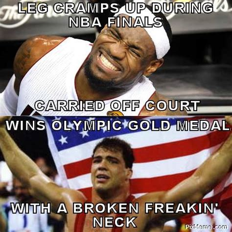 Midol Meme - since lebron james is a sore loser here are 18 of his