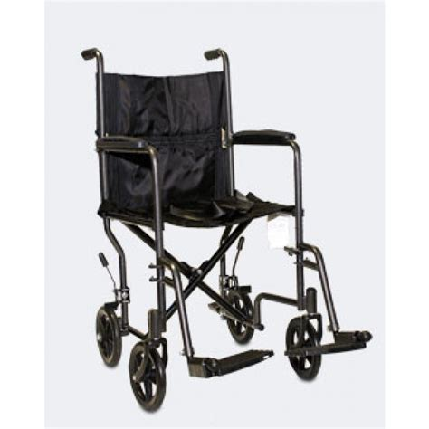 Transport Chair Reviews by Probasics Transport Chair 19 Quot Silver Vein 9105 4md