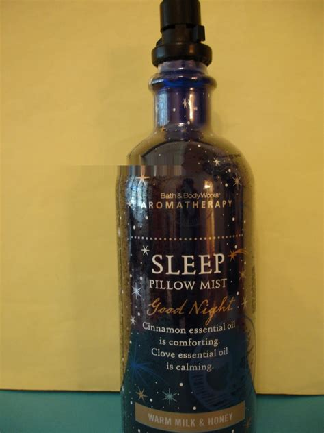 Bath And Works Pillow Mist by Bath And Works Aromatherapy Warm Milk And Honey