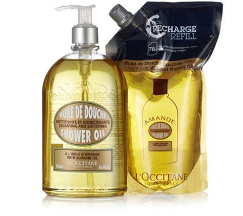 Loccitane Almond Shower 500 Ml l occitane almond shower eco refill 500ml page 1 qvc uk