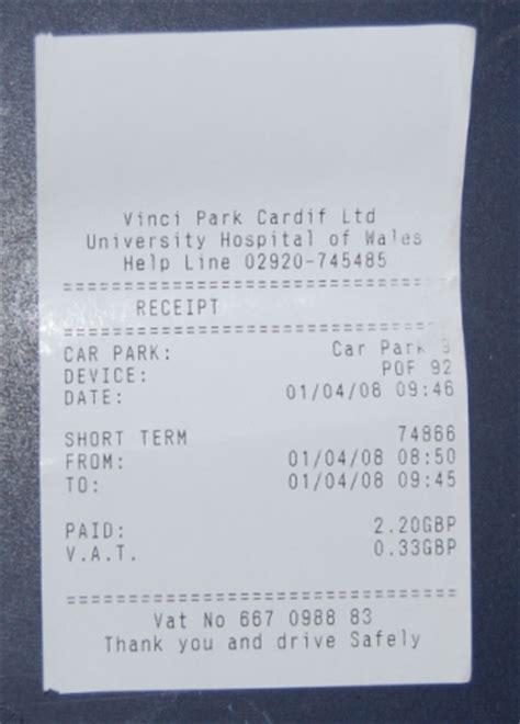 parking receipt template pin parking receipt on