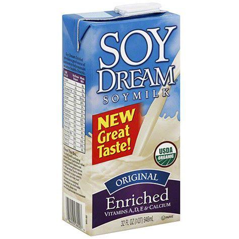 Soy Milk Shelf soy original enriched soy milk 32 oz pack of 12
