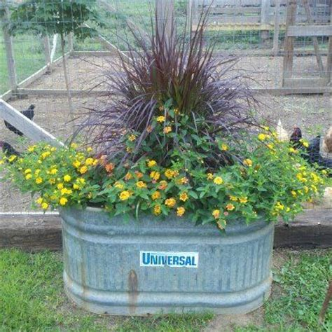 Metal Garden Planters Troughs by Water Trough Gardening The O Jays