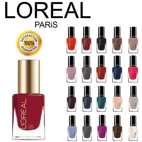 loreal nail colors l oreal extraordinaire gel lacque 1 2 3