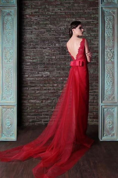 fotos vestidos de novia rojos 23 preciosos vestidos de novia de color rojo bodas