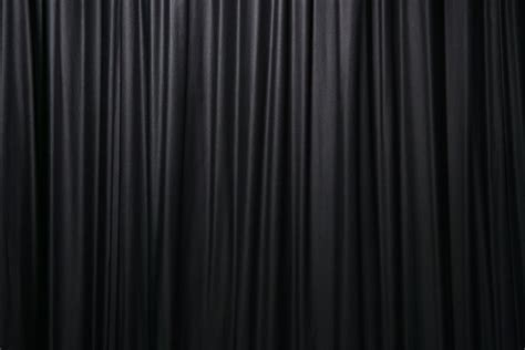 Black Backdrop Curtains Free Black Curtain Stock Photo Freeimages