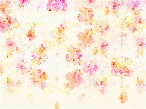 Flowers On White Background Backgrounds For Powerpoint Free Pastel Flowers Backgrounds For Powerpoint Flower Ppt