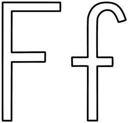 f color letter f coloring pages letter f coloring page alphabet