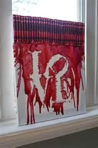 Crayon art love melted crayon art sarah n higgins