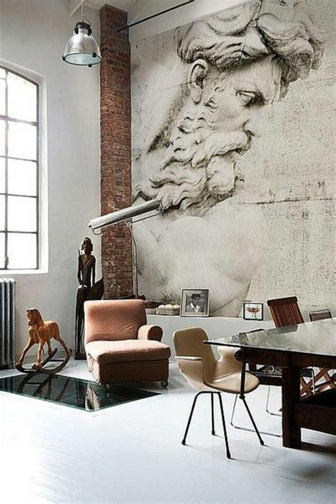 Meisterwerk Tapeten stein tapeten erschaffen ein komfortables ambiente in