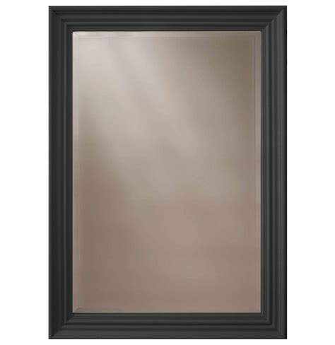 black framed mirrors for bathroom heritage edgeware onyx black wooden framed mirror 660 x 910mm