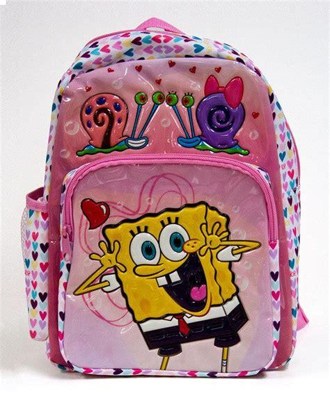 F Buddies Pink nickelodeon pink spongebob best buddies backpack pink