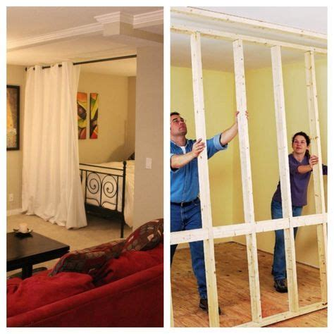 privacy wall for bedroom best 25 temporary wall divider ideas on pinterest