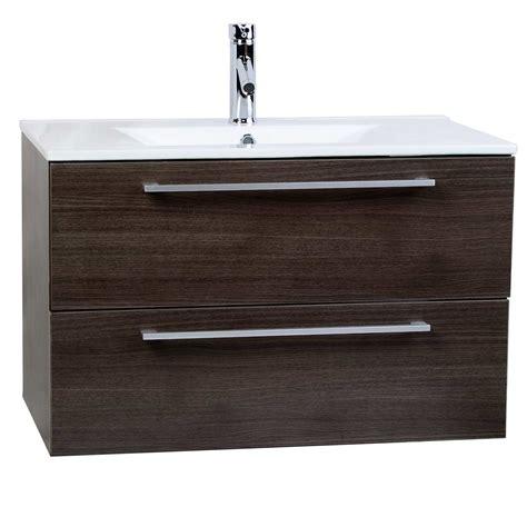 Buy Caen 32 Inch Wall Mount Modern Bathroom Vanity Set Wall Mount Bathroom Vanity