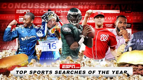 best sports espn s top sports searches of 2010 espn