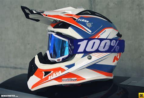 Ktm Airoh Helmet Ktm Airoh Aviator Helmet 2014 100 Goggles Derestricted