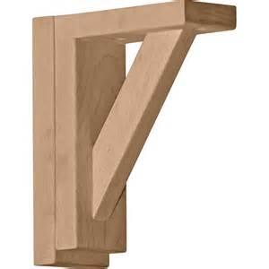 ekena millwork bkt02x06x07tr mini traditional shelf
