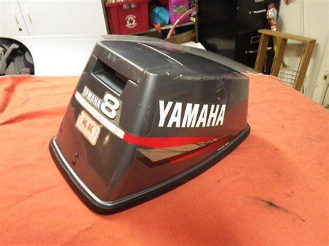 yamaha outboard motor covers sale sell yamaha 8 hp outboard motor hood cowl cover lid