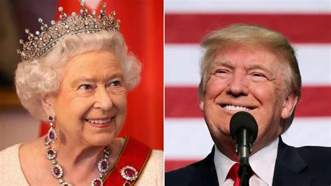 queen elizabeth donald trump trump s state visit plan put the queen in a very