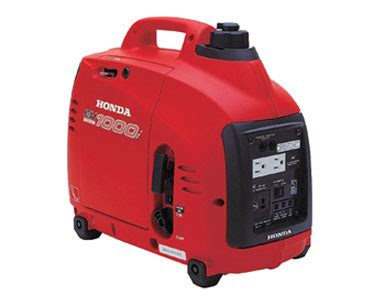 honda eu1000i 1000 watt portable inverter generator car