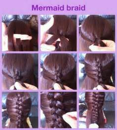 hair braiding styles step by step easy step by step hairstyles for long hair