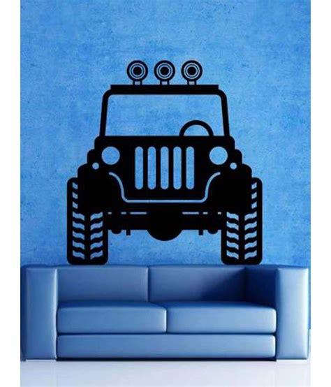 jeep wall wallmantra the jeep wall decor wall sticker buy