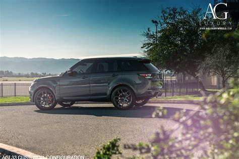 luxury black range rover 100 range rover sport custom wheels ace 22 adv1