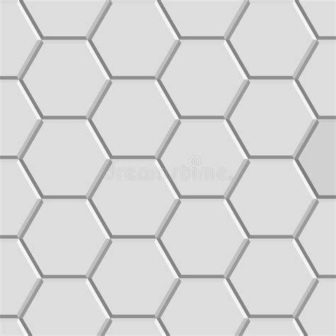 pattern block tiles hexagon texture block stock vector illustration of shape
