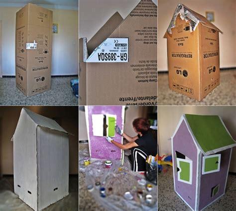 diy como hacer casitas portatarjetas como hacer una casita infantil de cart 243 n