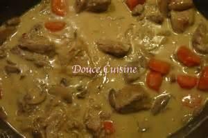 saut 233 de porc sauce vin blanc douce cuisine