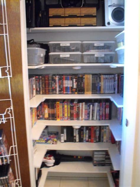 Dvd Storage Closet by Media Closet Atwell Casa