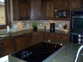 Peel And Stick Kitchen Backsplash Stone Veneer Stone Backsplash And Sticks On Pinterest