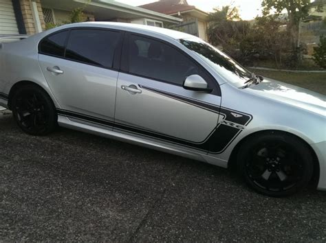 ford falcon stickers 2011 ford falcon xr6 stickers shannons club