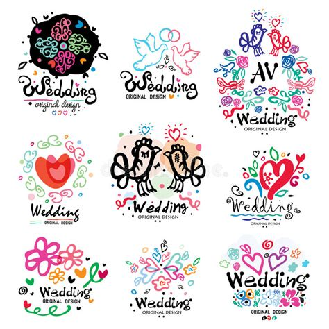 Wedding Decoration Logo by Wedding Decoration Logo Handmade Wedding Design
